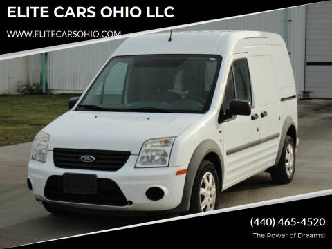 2011 Ford Transit Connect for sale at ELITE CARS OHIO LLC in Solon OH