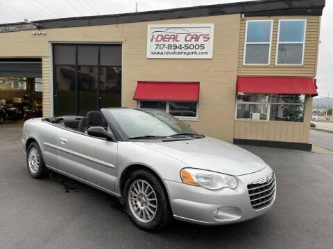 2004 Chrysler Sebring for sale at I-Deal Cars LLC in York PA