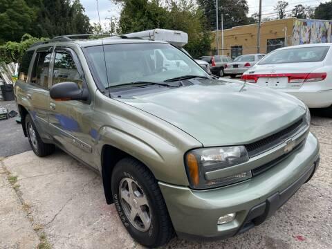 2004 Chevrolet TrailBlazer for sale at Quality Motors of Germantown in Philadelphia PA