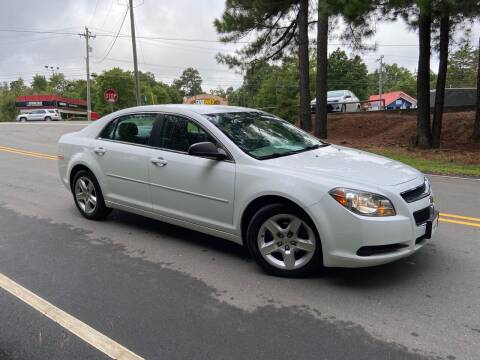 2012 Chevrolet Malibu for sale at THE AUTO FINDERS in Durham NC
