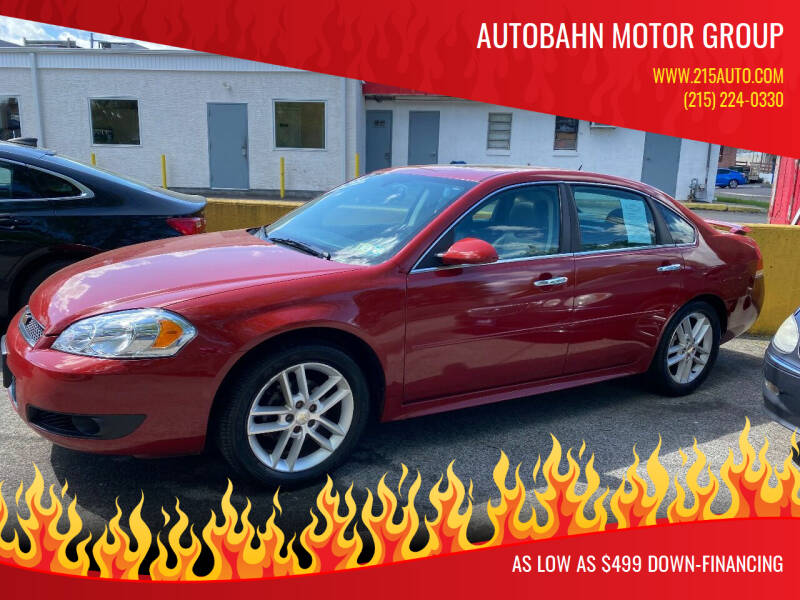 2014 Chevrolet Impala Limited for sale at Autobahn Motor Group in Willow Grove PA