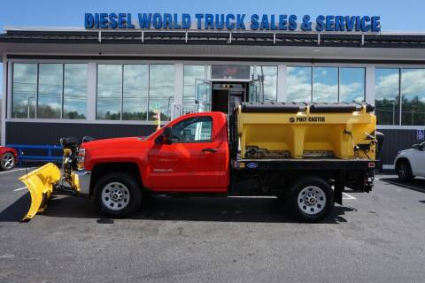 2017 Chevrolet Silverado 3500HD CC for sale at Diesel World Truck Sales in Plaistow NH