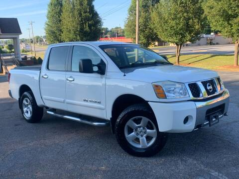 2006 Nissan Titan for sale at Mike's Wholesale Cars in Newton NC