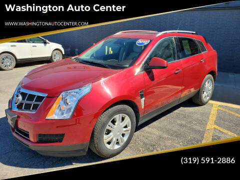 2012 Cadillac SRX for sale at Washington Auto Center in Washington IA