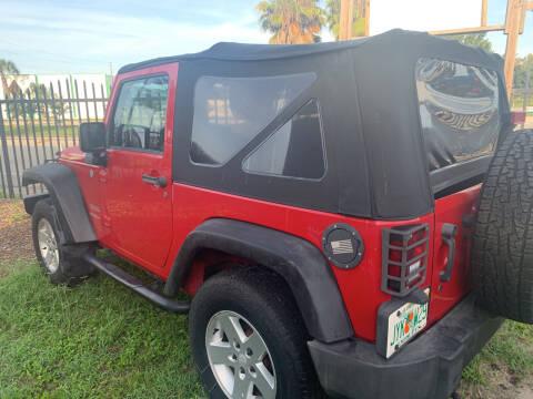 2012 Jeep Wrangler for sale at Diversified Auto Sales of Orlando, Inc. in Orlando FL