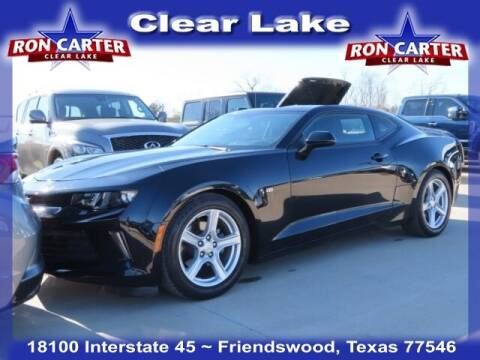 2018 Chevrolet Camaro for sale at Ron Carter  Clear Lake Used Cars in Houston TX