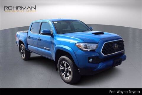 2018 Toyota Tacoma for sale at BOB ROHRMAN FORT WAYNE TOYOTA in Fort Wayne IN