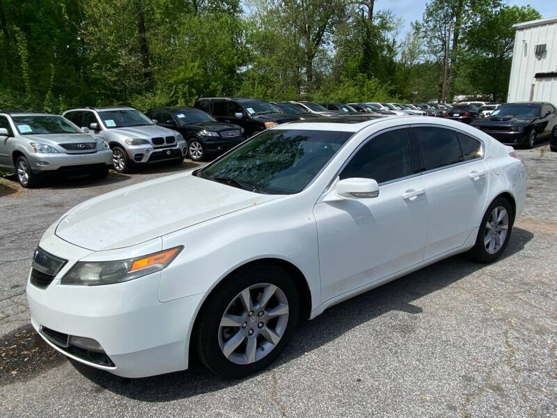 2013 Acura TL for sale at Car Online in Roswell GA