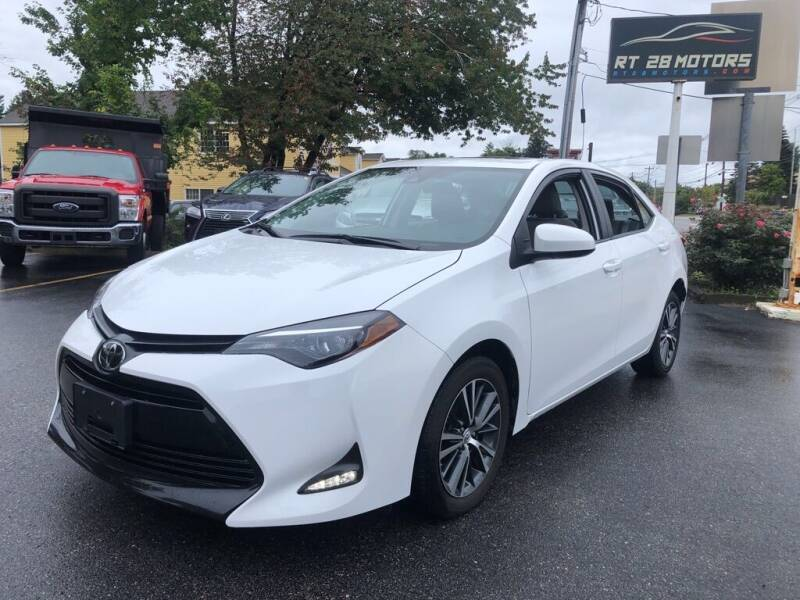 2019 Toyota Corolla for sale at RT28 Motors in North Reading MA