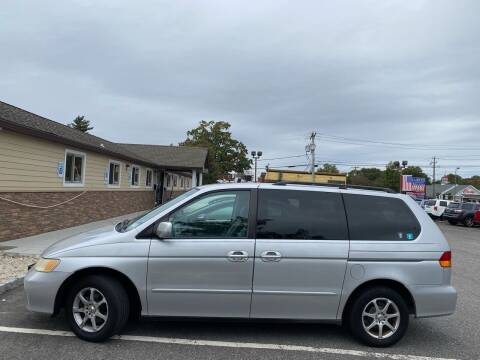 2004 Honda Odyssey for sale at Primary Motors Inc in Commack NY
