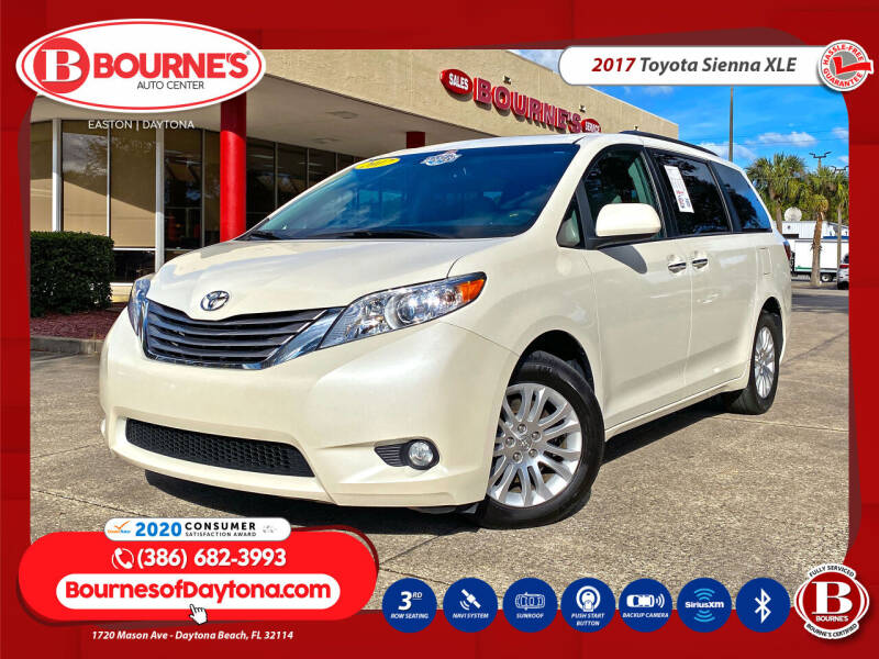 2017 Toyota Sienna for sale at Bourne's Auto Center in Daytona Beach FL