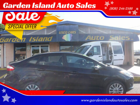 2014 Ford Fiesta for sale at Garden Island Auto Sales in Lihue HI