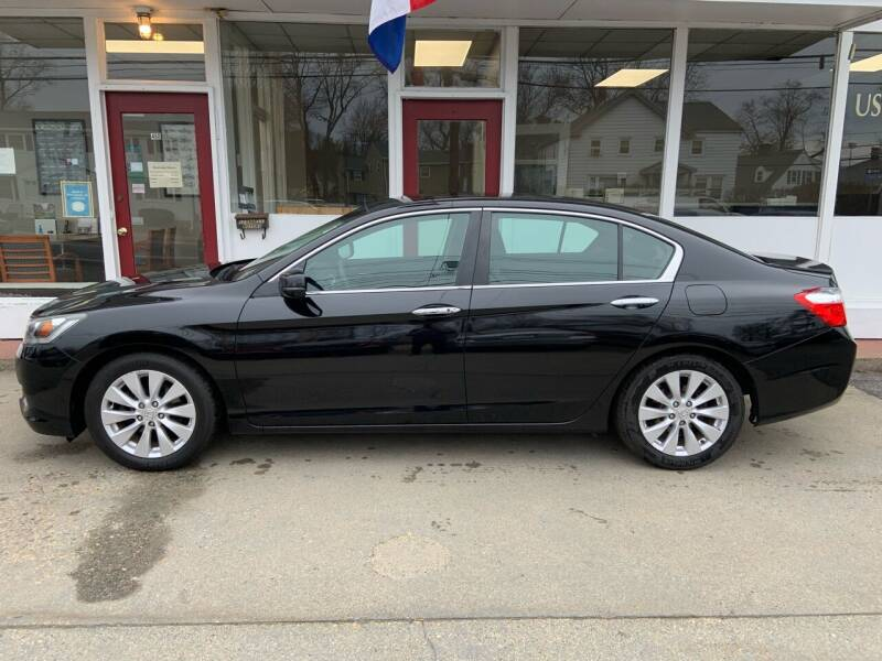 2013 Honda Accord for sale at O'Connell Motors in Framingham MA