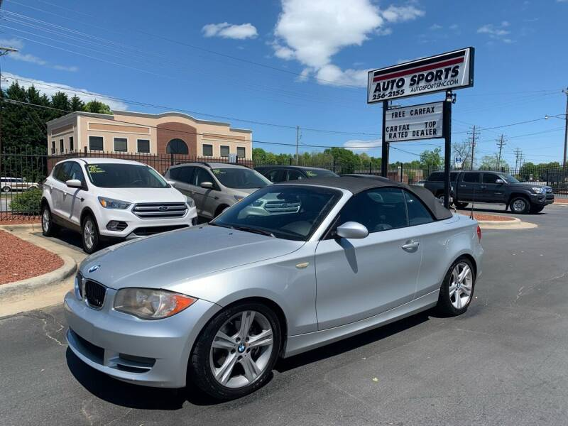 2008 BMW 1 Series for sale at Auto Sports in Hickory NC