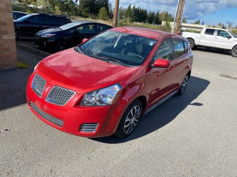 2009 Pontiac Vibe for sale at KARMA AUTO SALES in Federal Way WA