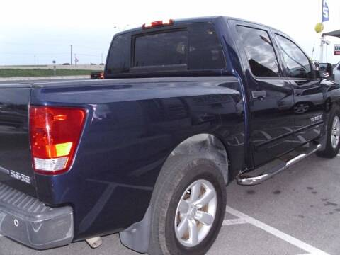 2010 Nissan Titan for sale at Big E's Auto Group LC in Marion TX