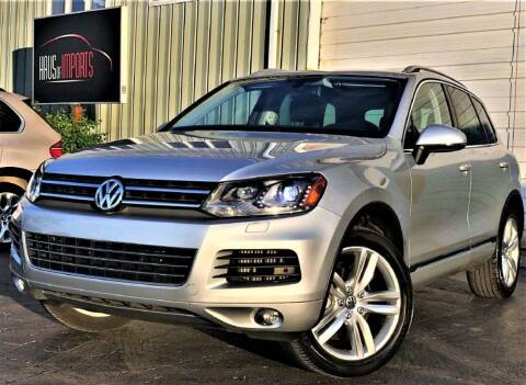 2011 Volkswagen Touareg for sale at Haus of Imports in Lemont IL