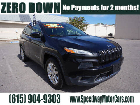 2015 Jeep Cherokee for sale at Speedway Motors in Murfreesboro TN