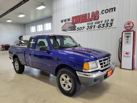 2003 Ford Ranger for sale at Kinsellas Auto Sales in Rochester MN