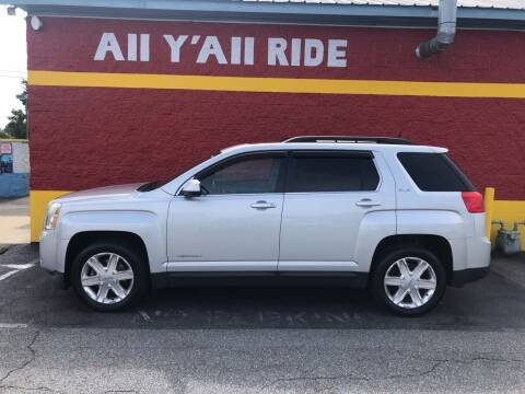 2011 GMC Terrain for sale at Big Daddy's Auto in Winston-Salem NC