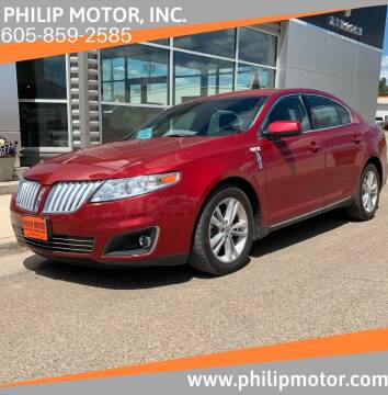 2011 Lincoln MKS for sale at Philip Motor Inc in Philip SD
