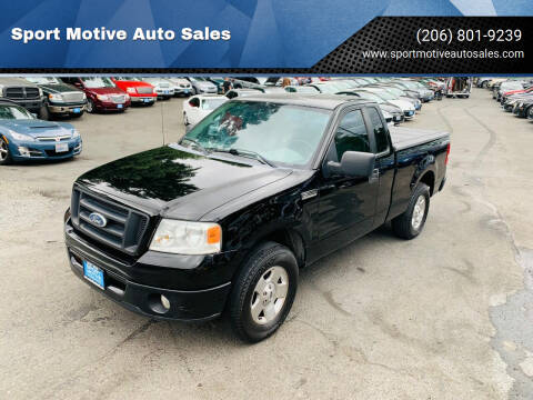 2007 Ford F-150 for sale at Sport Motive Auto Sales in Seattle WA