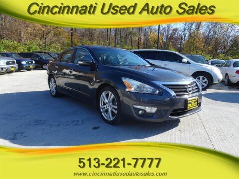 2013 Nissan Altima for sale at Cincinnati Used Auto Sales in Cincinnati OH