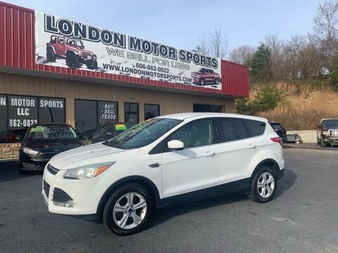 2016 Ford Escape for sale at London Motor Sports, LLC in London KY