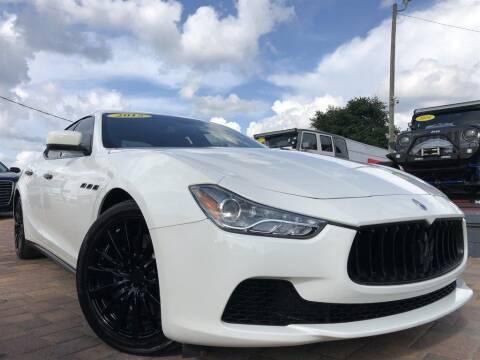 2015 Maserati Ghibli for sale at Cars of Tampa in Tampa FL