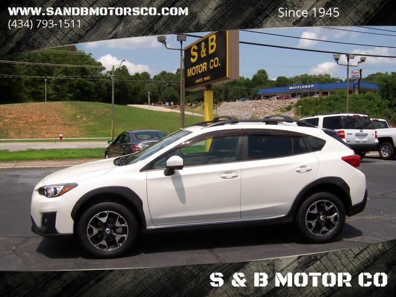 2018 Subaru Crosstrek for sale at S & B MOTOR CO in Danville VA