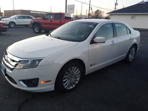 2012 Ford Fusion Hybrid for sale at Arak Auto Group in Bourbonnais IL