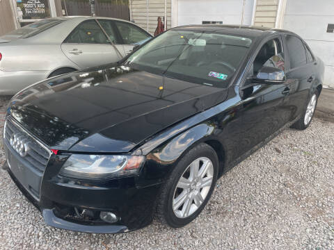 2009 Audi A4 for sale at Trocci's Auto Sales in West Pittsburg PA