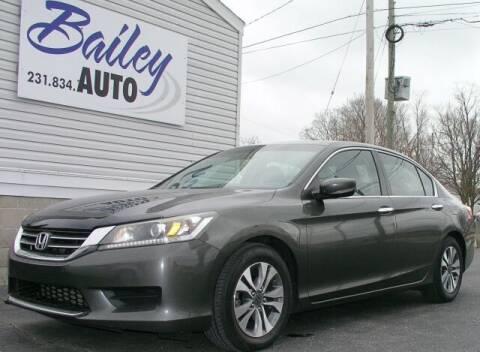 2013 Honda Accord for sale at Bailey Auto LLC in Bailey MI