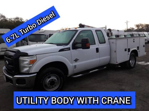 2015 Ford F-350 Super Duty for sale at DOABA Motors in San Jose CA
