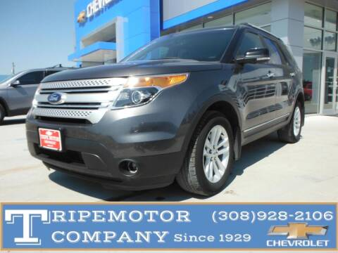 2015 Ford Explorer for sale at Tripe Motor Company in Alma NE