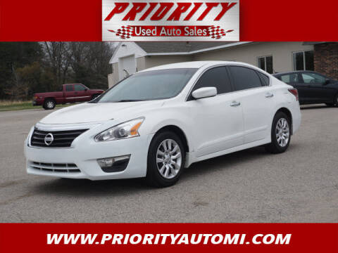 2015 Nissan Altima for sale at Priority Auto Sales in Muskegon MI