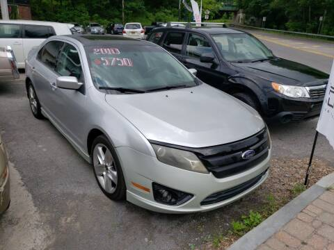 2010 Ford Fusion for sale at Apple Auto Sales Inc in Camillus NY
