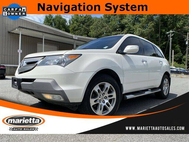 2009 Acura MDX SH-AWD w/Tech w/RES