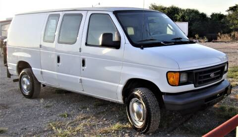 2006 Ford E-Series Cargo for sale at Advantage Auto Sales in Wichita Falls TX