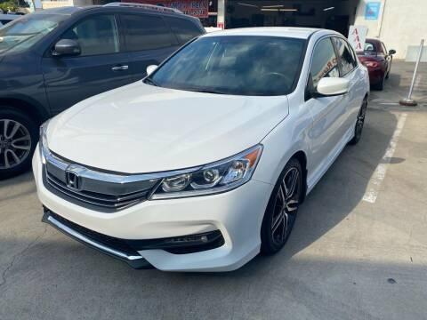2017 Honda Accord for sale at Fiesta Motors in Winnetka CA