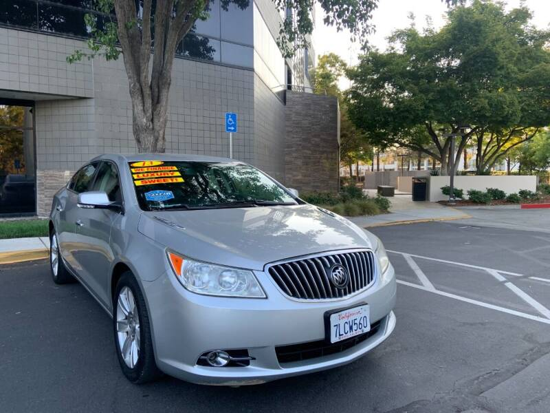 2013 Buick LaCrosse for sale at Right Cars Auto Sales in Sacramento CA