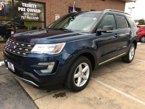 2017 Ford Explorer for sale at Bankruptcy Car Financing in Norfolk VA