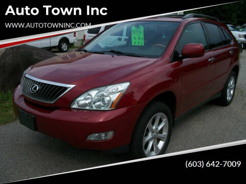 2009 Lexus RX 350 for sale at Auto Town Inc in Brentwood NH
