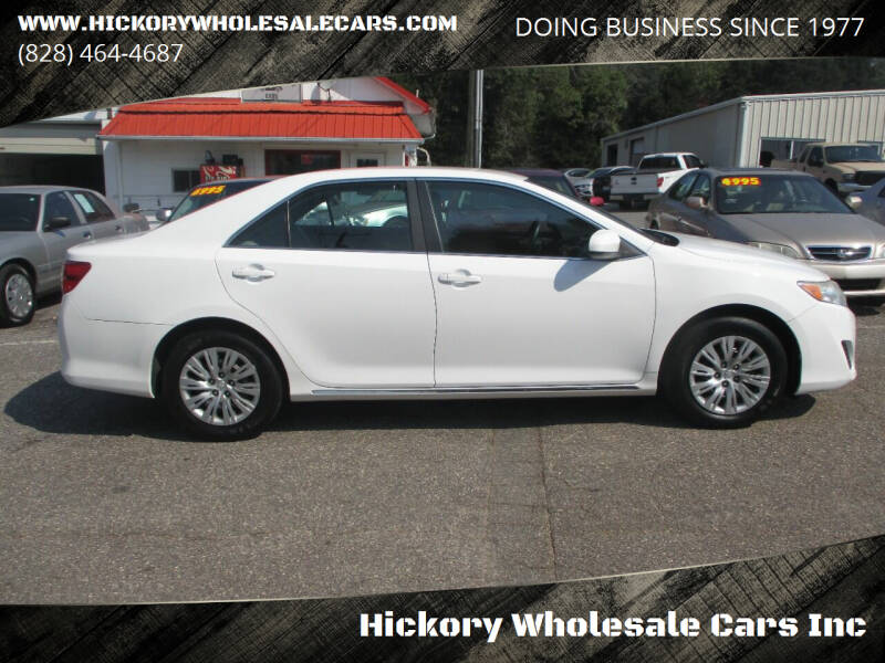 2012 Toyota Camry for sale at Hickory Wholesale Cars Inc in Newton NC