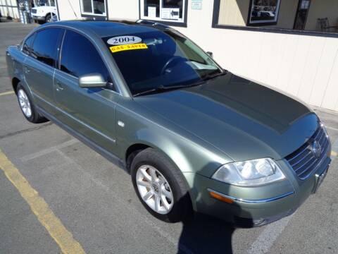 2004 Volkswagen Passat for sale at BBL Auto Sales in Yakima WA