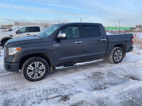 2015 Toyota Tundra for sale at Canuck Truck in Magrath AB