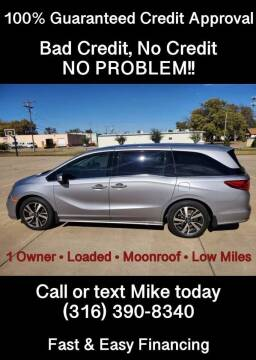 2019 Honda Odyssey for sale at Affordable Mobility Solutions, LLC - Standard Vehicles in Wichita KS