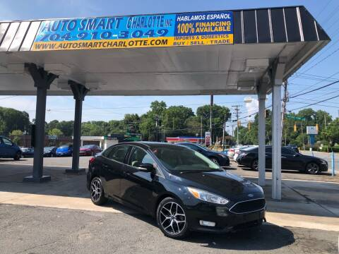 2016 Ford Focus for sale at Auto Smart Charlotte in Charlotte NC