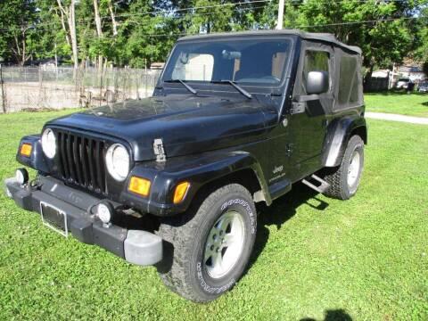 2005 Jeep Wrangler for sale at Dons Carz in Topeka KS