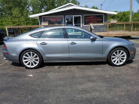2012 Audi A7 for sale at Drive Motor Sales in Ionia MI
